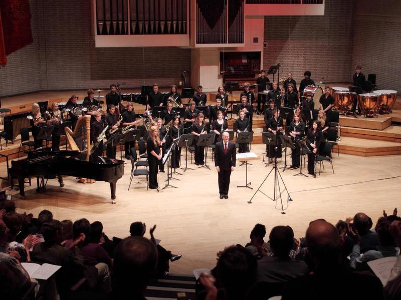 National Youth Wind Ensemble of Great Britain fundraising for a tour