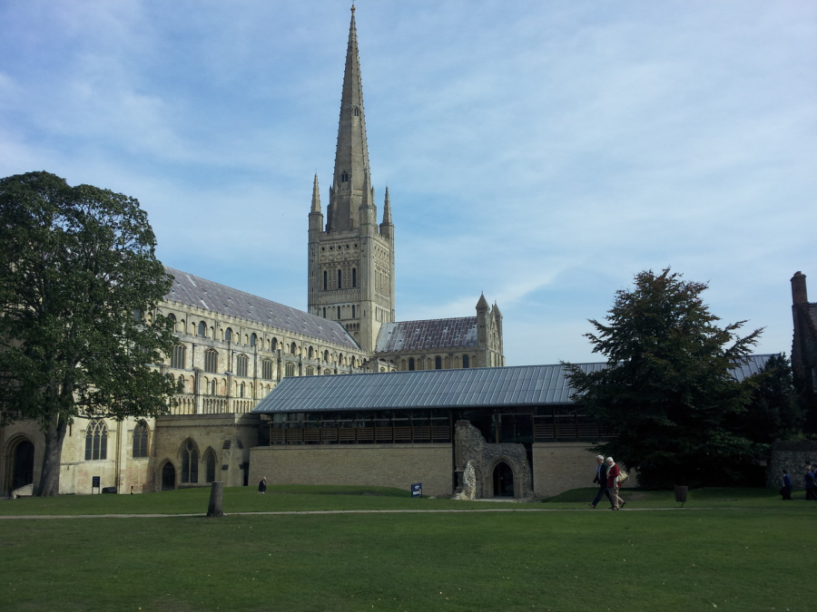 Norwich Cathedral's fundraising campaign for the Cloister complex