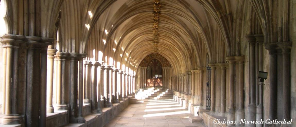 Fundraising prject for cloisters at Norwich Cathedral by Stefan Lipa, fundraising consultancy