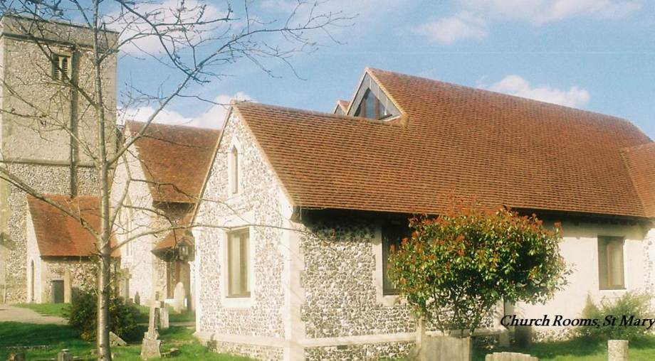 Church rooms at Kings Worthy - a village church client of Stefan Lipa Consultancy
