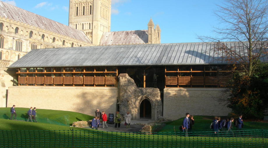 Client - Norwich Cathedral, new Hostry